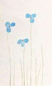 Fingerprint Flowers